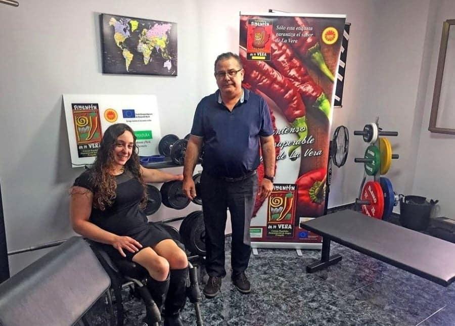 Loida Zabala en el Consejo Regulador DOP Pimentón de La Vera