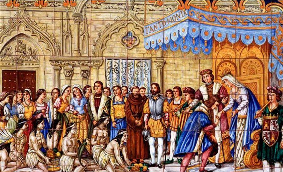 Ofrenda a los Reyes Católicos