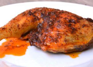 Pollo al pimenton de la vera